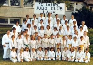 10 Jahre Judo-Club Lauf