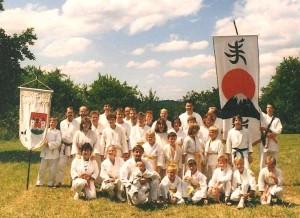 Teilnehmer am Kunigundenfestzug 1990